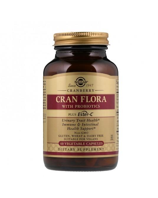 Solgar -  Żurawina Cran Flora 60 Kapsułek