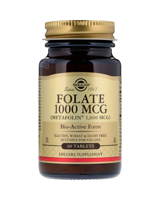 Solgar Folian 1000 MCG Metafoplin 60 tabletek