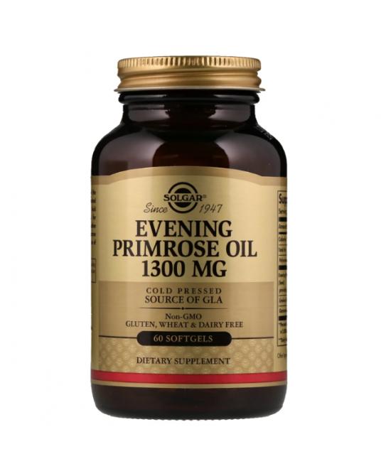Solgar - Olej z wiesiołka dwuletniego 1300 mg 60 Kapsułek