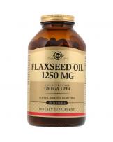 Solgar, olej lniany, 1250 mg, 250 kapsułek