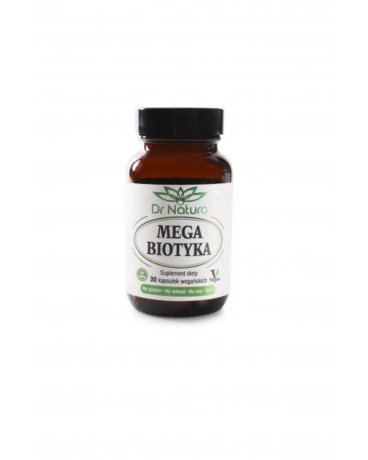 Dr-Natura Mega Biotyka 10 szczepów 30 Vegan kap