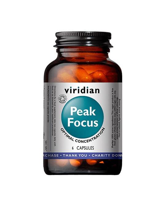 Organic Peak Focus (Koncentracja) 6 kapsułek