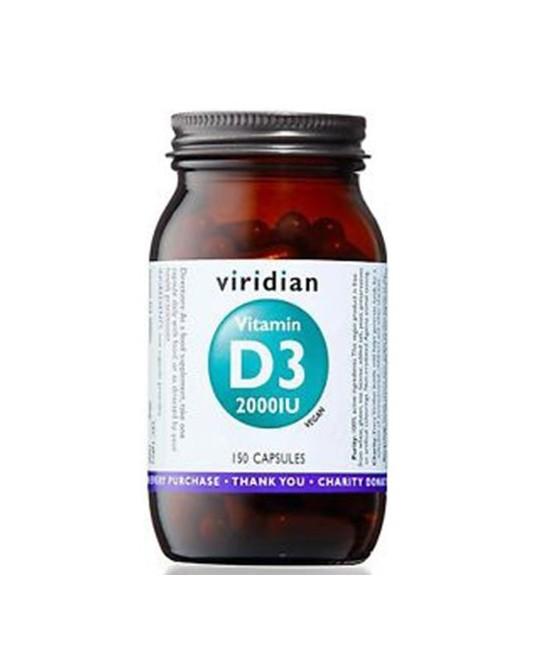 Witamina D3 2000IU (wegan) 150 kapsułek