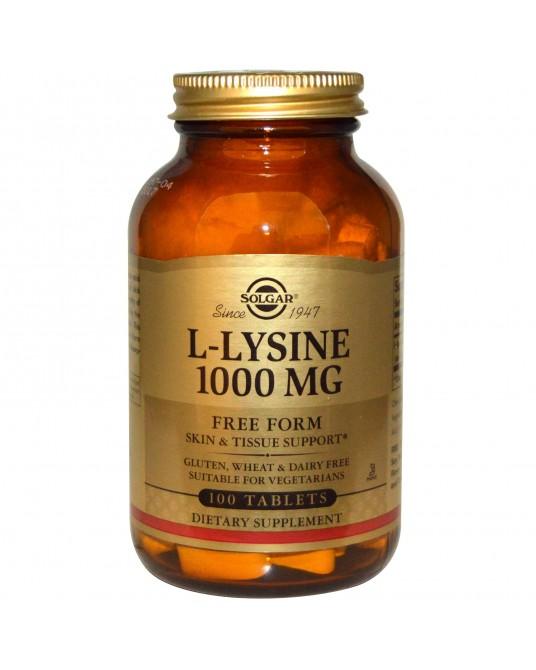 Solgar - L-Lizyna 1000 mg 100 Tabletek