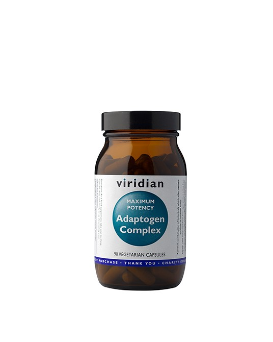 Viridian - Maximum Potency Adaptogen Complex, 90 kapsułek