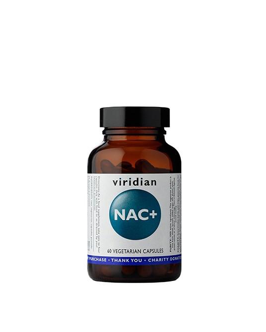 Viridian - NAC+, 60 kapsułek