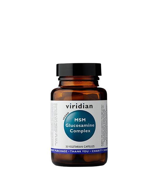 Viridian - Glukozamina z MSM 30 Kapsułek