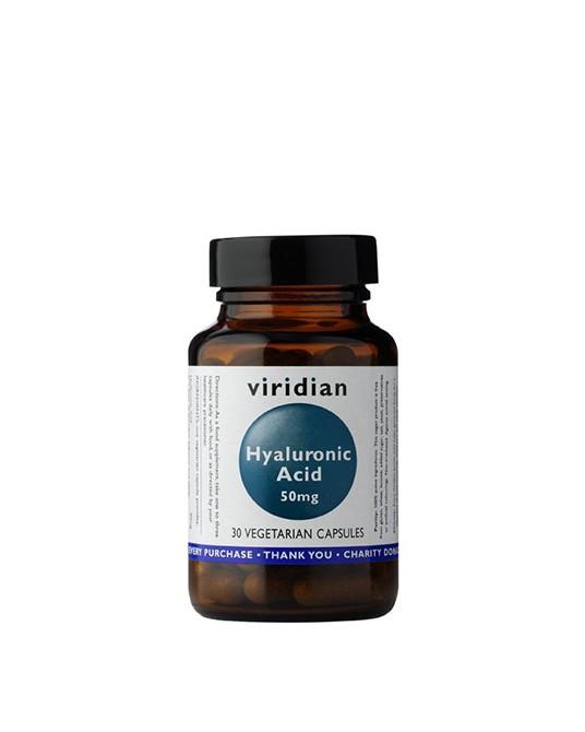 Viridian - Kwas hialuronowy 30 Kapsułek