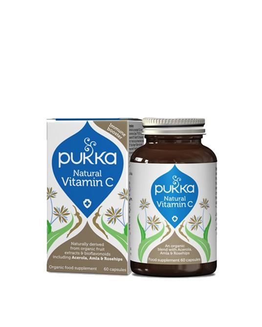 Pukka - Naturalna Witamina C 60 Kapsułek