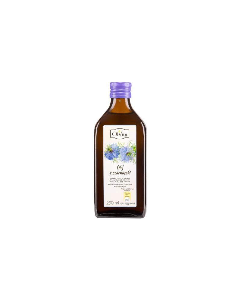 OL'VITA - Olej z czarnuszki zimno tłoczony 250 ml