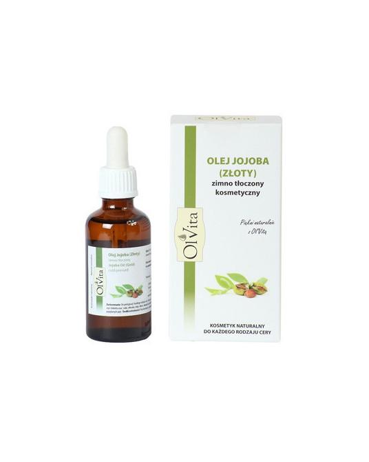 OL'VITA - Olej jojoba zimno tłoczony kosmetyczny 50 ml