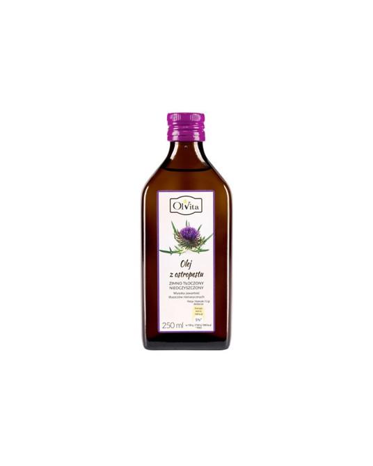 OL'VITA - Olej z ostropestu zimno tłoczony nieoczyszczony 250 ml