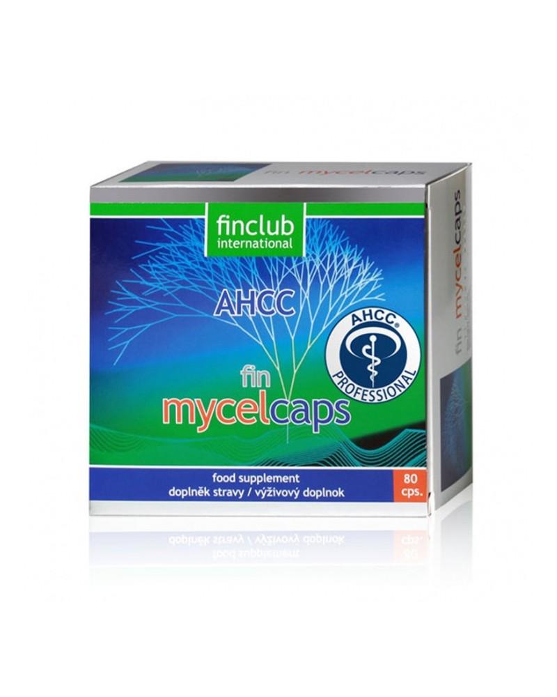 FINCLUB - AHCC MYCELCAPS 80 Kapsułek
