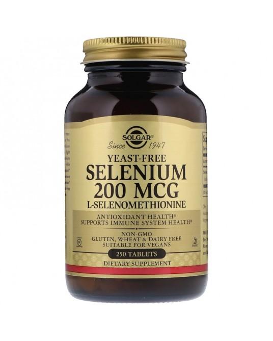 Solgar - Selen 200 µg 50 Tabletek